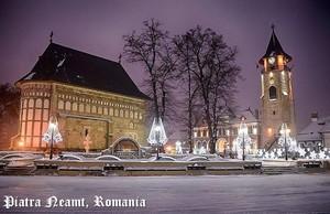 Piatra Neamt Romania ~ Stephen the Great tower