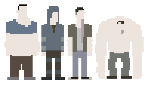 left 4 dead 2 wallpaper titled Pixel Special Infected