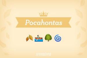 Pocahontas Emojis