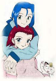 Pokemon Manga Jessie and James married coloured