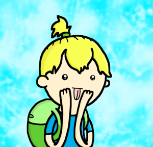 Ponytail Finn