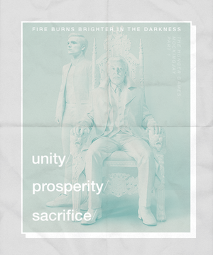 President Snow and Peeta