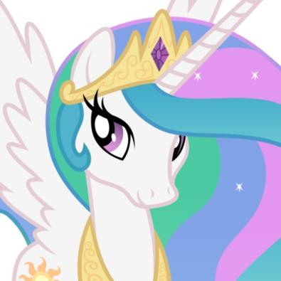 Princess Celestia's Head
