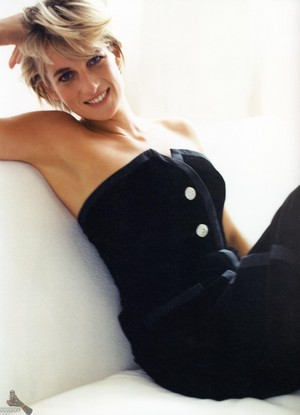 Princess Diana photographed par Mario Testino