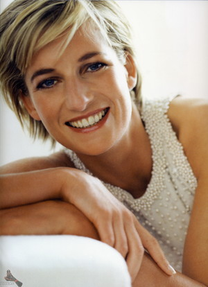 Princess Diana photographed door Mario Testino