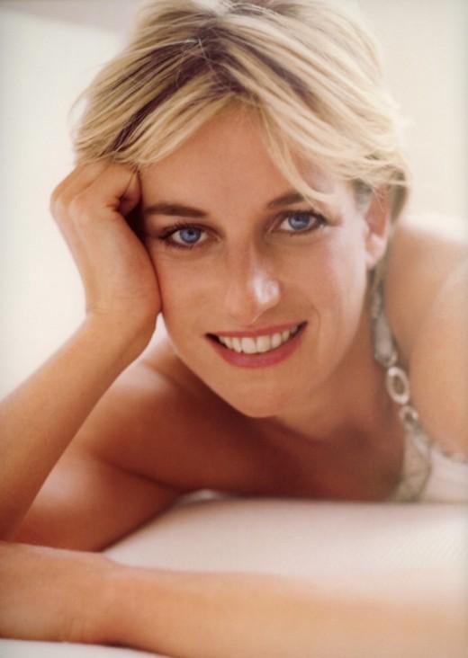 Princess Diana photographed سے طرف کی Mario Testino