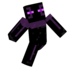 Purple the Enderman - minecraft icon