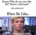 R5ers be like - ross-lynch photo