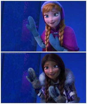 Racebent Anna!