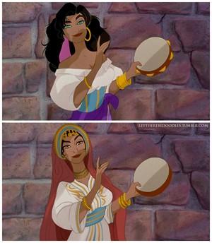 Racebent Esmeralda!