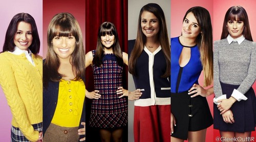 Rachel Berry karatasi la kupamba ukuta containing a well dressed person titled Rachel Berry Season 1 - 6