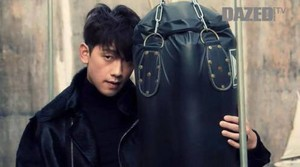 Rain for ''Dazed and Confused'' 2015 January Issue
