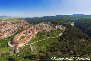 Rasnov citadel fortress Romania