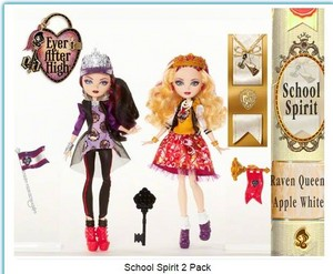 Raven queen & maçã, apple White School Spirit 2-Pack 2015