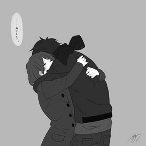 Rene and Bentley Hug 2/2