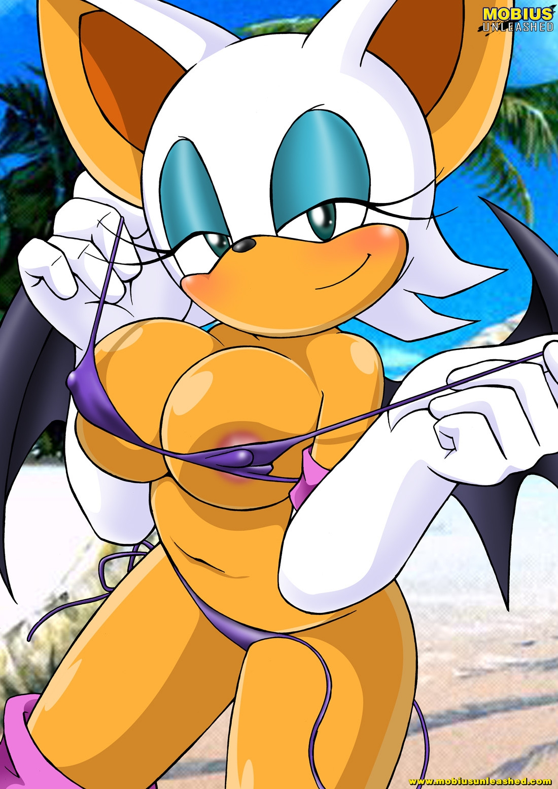 Rouge and sonic sex videos porn clip