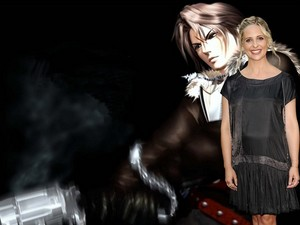 SARAH MICHELLE GELLAR AND FAKE fans SQUALL LEONHART
