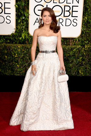 Salma Hayek - 72nd Annual Golden Globe Awards
