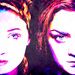 Sansa and Arya - sansa-stark icon