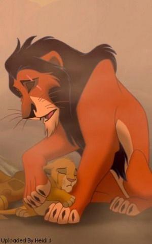 Scar and Simba