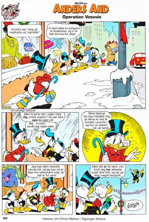 Scrooge McDuck: Operation Mt. Vesuvius (Danish Edition)