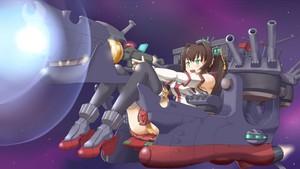 Senjan Yamato as Spaceship Yamato