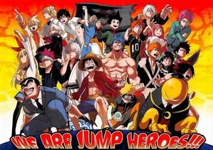 Shounen JUMP 超能英雄