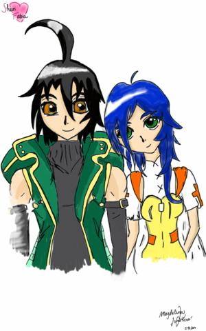 Shun and Fabia