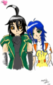 Shun and Fabia - shun-and-fabia fan art