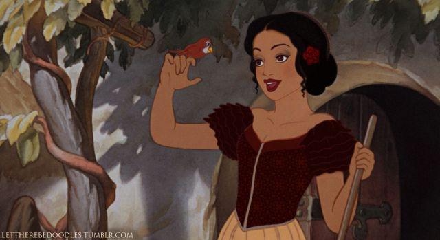 Snow White Racebent