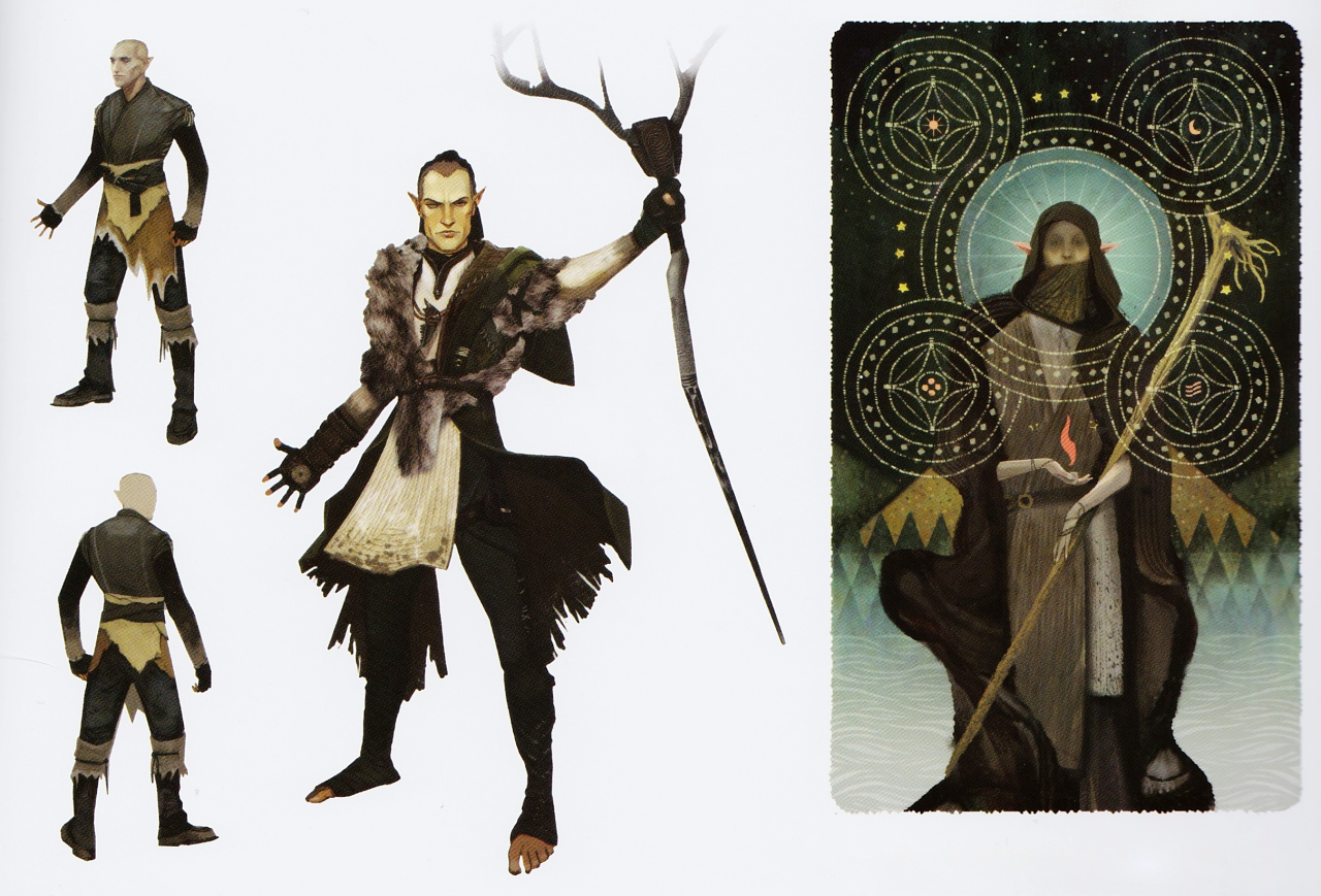 Dragon Age Origins Images Solas Concept Art In The Of Inquisition HD Wallpaper And Background Photos