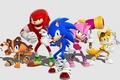 Sonic Boom Wallpaper