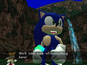 Sonic Cut-Scene