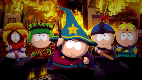 South Park Hintergrund titled South Park Stick of truth
