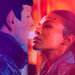 Spock and Uhura - mr-spock icon