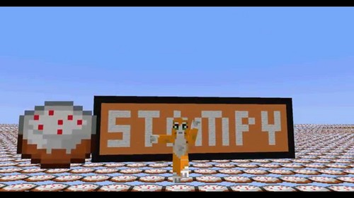 Stampylongnose Hintergrund called Stampy Cake