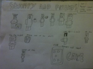 Stampycat and Friends sejak minecraftminion