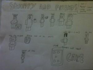 Stampycat and Friends Von minecraftminion