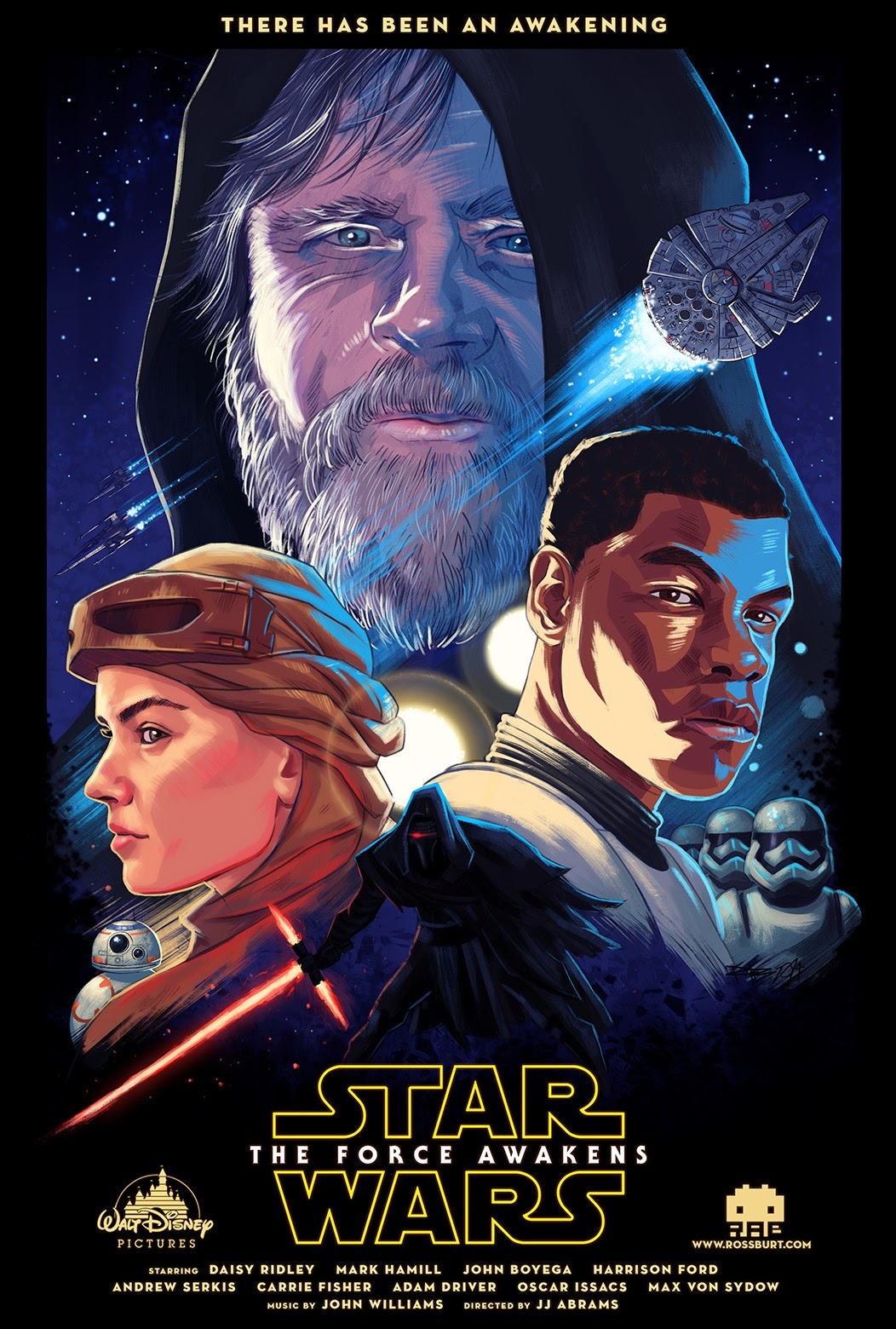 Star Wars VII Fan-made Poster