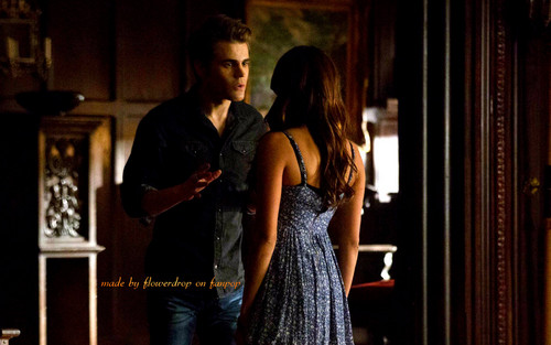 Stefan Salvatore 壁纸 possibly containing a 晚餐 dress and a 鸡尾酒 dress titled Stefan 壁纸 ✯