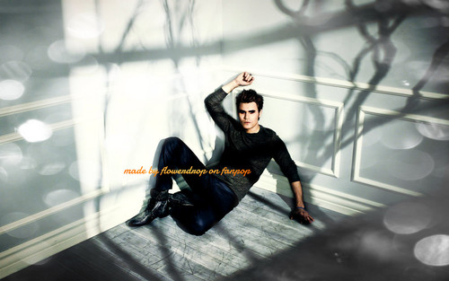 Stefan Salvatore wallpaper possibly containing a hip boot titled Stefan wallpaper ✯