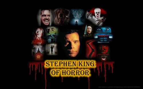 Poets & Writers wallpaper titled Stephen King