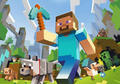 Steve Running - minecraft photo
