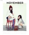 Sunny and Yoona (SNSD) - 2015 Calendar