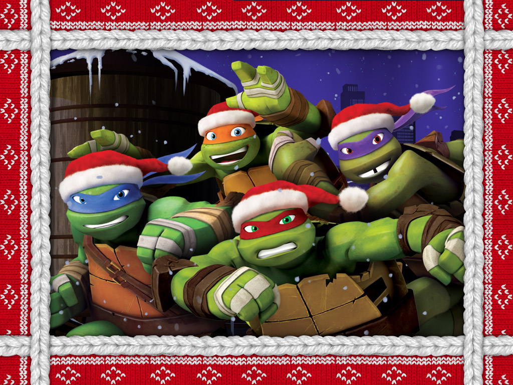ttlover12 images TMNT 2012 Christmas HD wallpaper and background ...