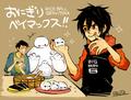 Tadashi, Baymax and Hiro