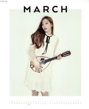 Taeyeon (SNSD) - 2015 Calendar