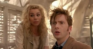 Tenth Doctor and Bad Wolf Girl