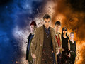 Tenth Doctor and Companions - the-tenth-doctor wallpaper