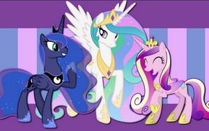 The 3 Main Princess' of Equestria